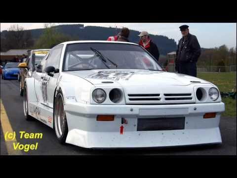 Auto Slalom DM Meschede, 09/10.04. 2011, Opel Manta B 16V, von und mit *Katsi* - der Grieche