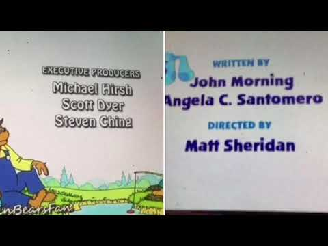 The Berenstain Bears, Blue's Clues and Maisy Credits Remix