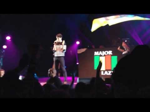 Major Lazer ft. Vampire Weekend - Jessica @Olympia  Festival des Inrocks