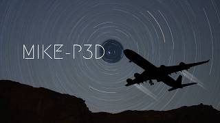 [P3D v4]  **LEBB - LEPA** | Bilbao- Palma de Mallorca |  --At Night--