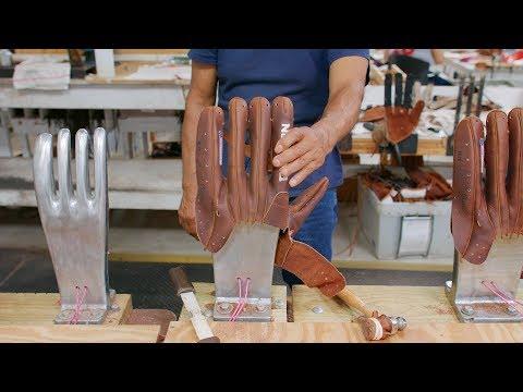 How a Nokona Baseball Glove is Made