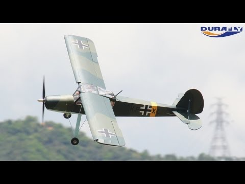 HobbyKing Product Video - Durafly Balsa Series Fieseler Storch 1154mm PnF