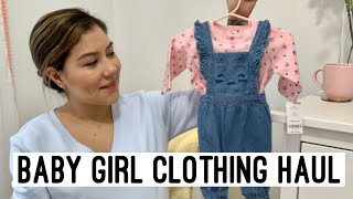 Baby Girl Clothing Haul l Gricelduh