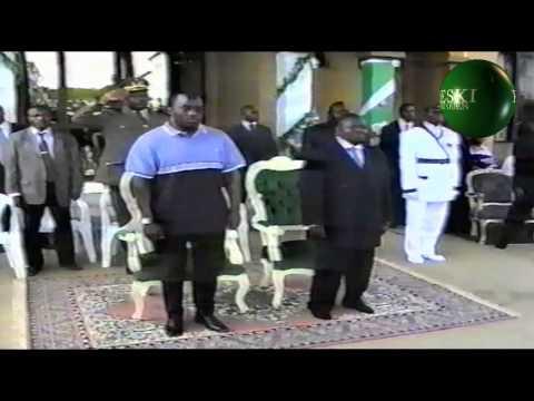 SPIRITIUALITE 60-1 A NKAMBA  ARRIVE PRESIDENT KABILA / NZAMBE KIMBANGU DIANGIENDA KIANGANI