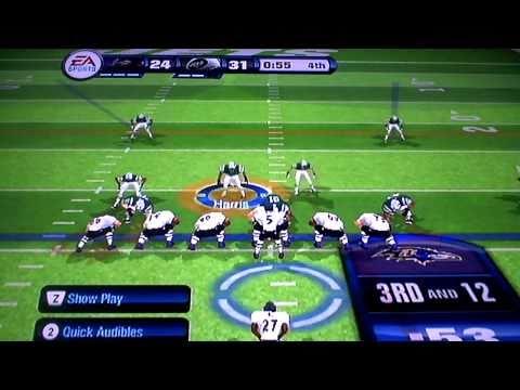 Madden 11 Wii Cheats Codes Madden 11 Wii Jets vs Ravens