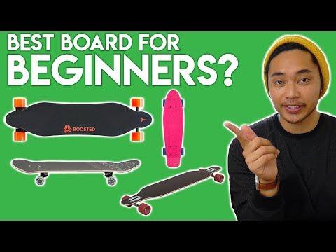 Best Type Of Skateboard For Beginners (2018)