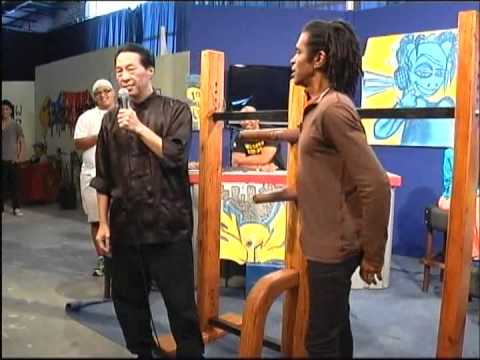 Ip Man Wing Chun Samuel Kwok TV Interview with Soli Philander in Cape Town