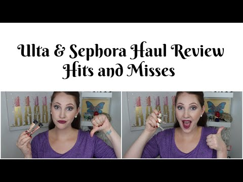 Haul Update! Review of Ulta and Sephora Purchases