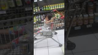Micai in the grocery store