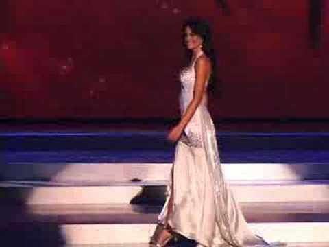 Honduras - Miss Universe 2008 Presentation - Evening Gown