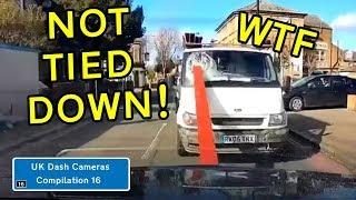 UK Dash Cameras - Compilation 16 - 2019 Bad Drivers, Crashes + Close Calls