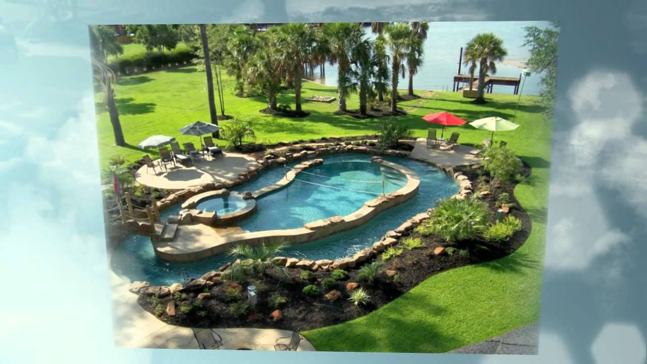 Landscaping Boulders Houston : Swimming pools houston