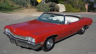 1972 Buick Centurion Video Review Convertible 455 V8 ~ WildCat Delta 88