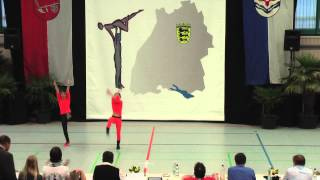 Madita Pilgram & Niklas Pilgram - LM Baden-Württemberg & Hessen 2015