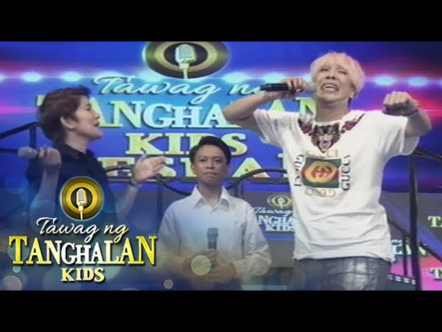 Tawag ng Tanghalan Kids: Vice shows how kids fight