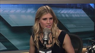 Bouchard on similarities & differences with Andre Agassi