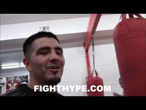 BRANDON RIOS RECALLS SPARRING WARS; WOULD LOVE TO SHARE RING WITH BRONER, GARCIA, OR MAYWEATHER