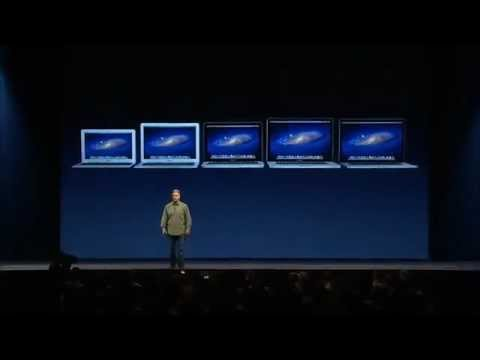 Apple WWDC 2012 Keynote - MacBook Air and MacBook Pro Retina Display (Part 2/2)