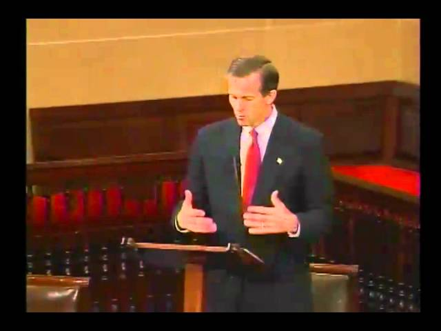 Thune Discusses His Budget Bill on Senate Floor