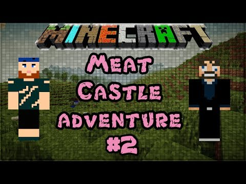Modded Minecraft 1.6.4 | Meat Castle Adventure | #2 The Great Luggage Chase