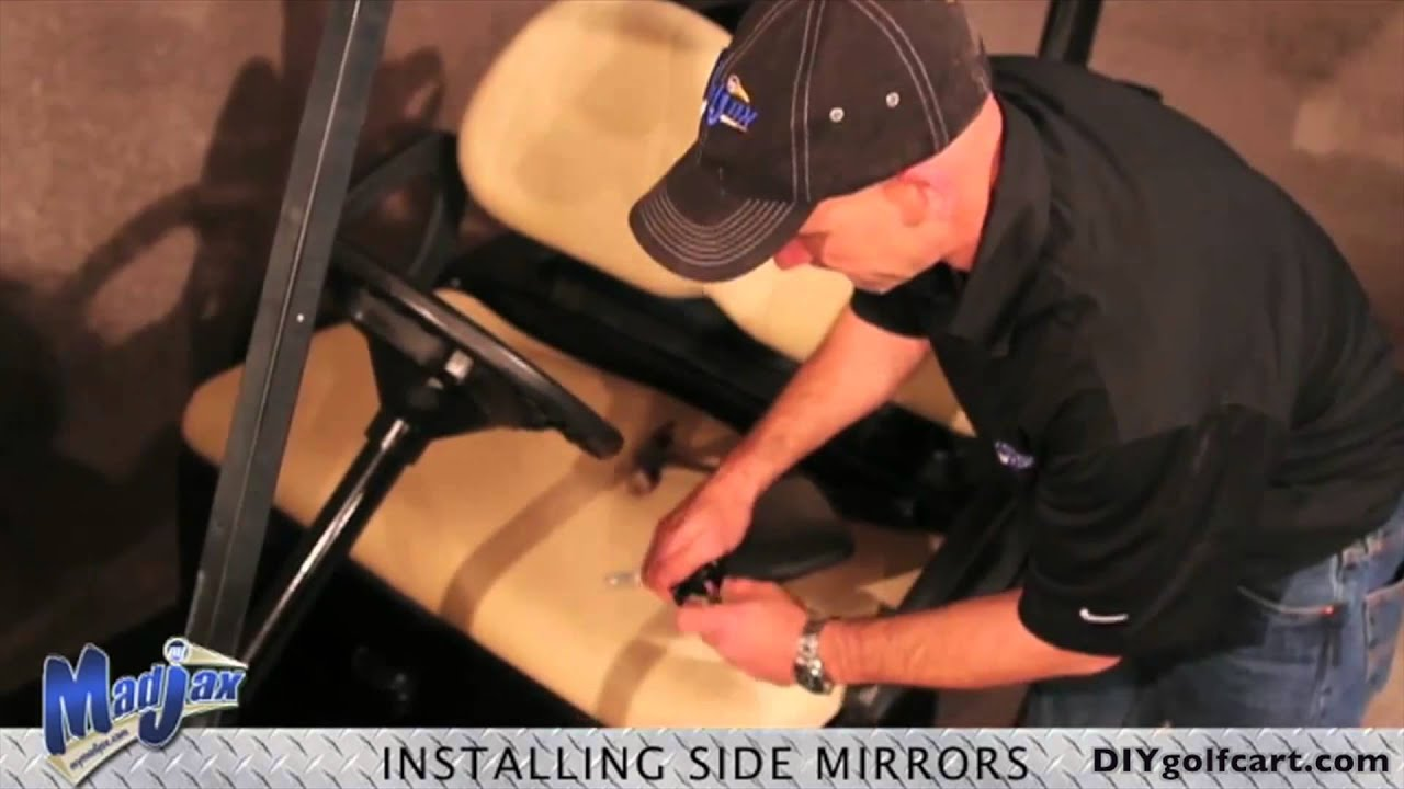 Cart Side Golf Cart Side Mirrors | How