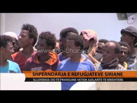 Shpërndarja e refugjatëve sirianë - Top Channel Albania - News - Lajme