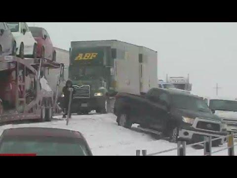 Ice storm targets southern U.S.