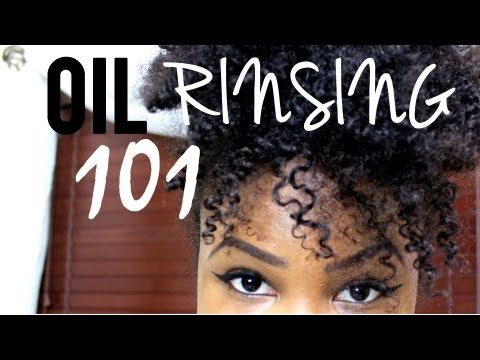 Oil Rinsing for Natural Hair