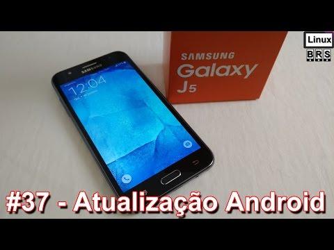 Samsung Galaxy J5 - Atualização Android 5.1.1 - Português