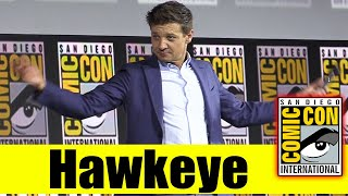 HAWKEYE | 2019 Comic Con Panel (Jeremy Renner)