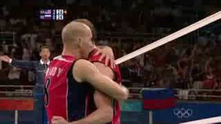 USA vs Russia - Men's Volleyball - Beijing 2008 Summer Olympic Games