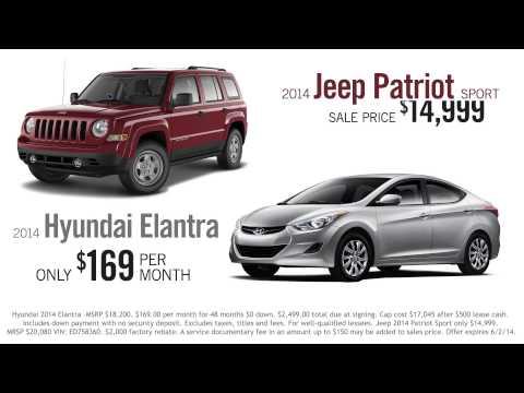 Birthday Bash Sales Event - Hyundai & Jeep