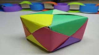 Kids Crafts : 3D Square Ball : How To Make Easy 3D Square Ball