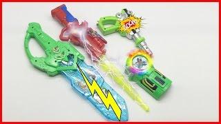 Ben 10 | Ben Ten | Bộ sưu tập đồng hồ siêu nhân phát sáng | SauBom Toys Review