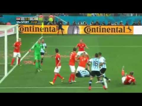 Argentina vs. Netherlands WC 2014 Semifinal Highlights