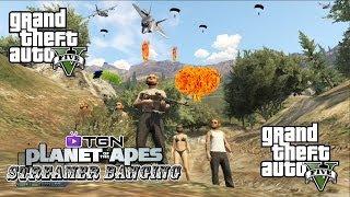 "GTA 5 Online ""GTA V Online Planet Of The Apes SB"" Gameplay LIVESTREAM [HD]"