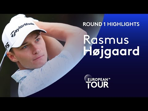 19-year-old Rasmus Højgaard shoots impressive 65 | Round 1 Highlights | English Championship