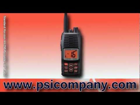 Standard Horizon HX290 Portable VHF Radio: An Overview