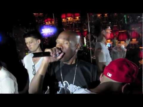 Big Boy with DJ Vick One at Club Vanity in Tokyo Japan July 29 2012