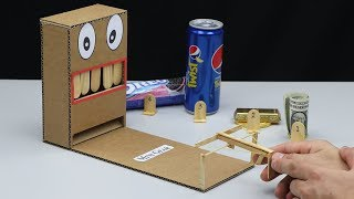 How to make Mini Game Gun Shooting from Cardboard