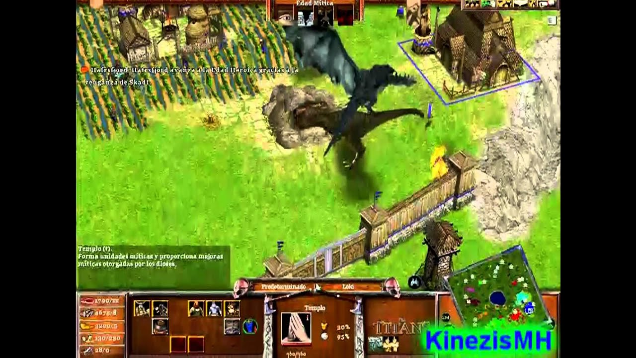 jugar age of mythology: