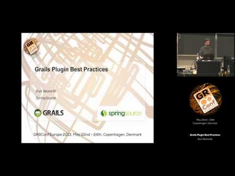 Grails Plugin Best Practices
