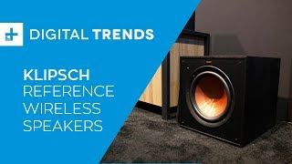 Klipsch Reference Wireless WISA Home Theater System - Hands On at CES 2019