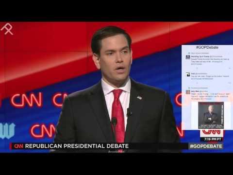 Marco Rubio Denies Man Made Climate Change, Again