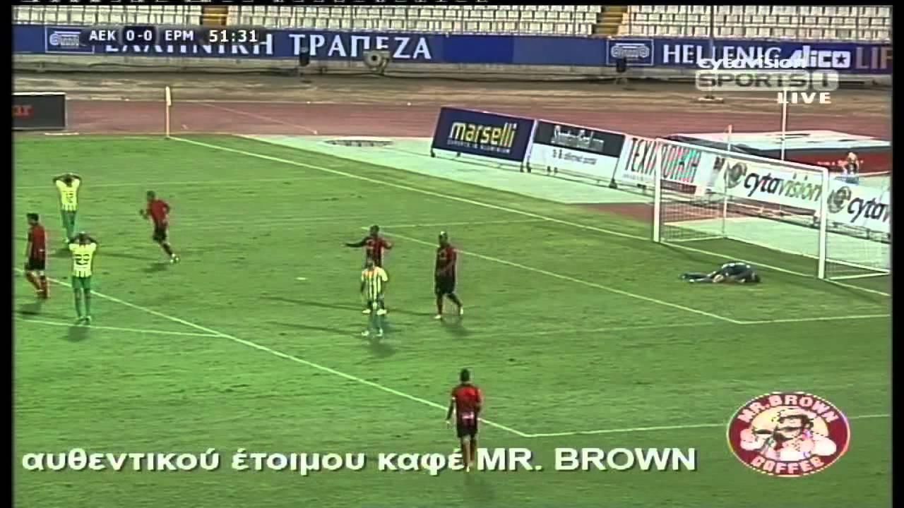 AEK Larnaca 0-0 Ermis Aradippou