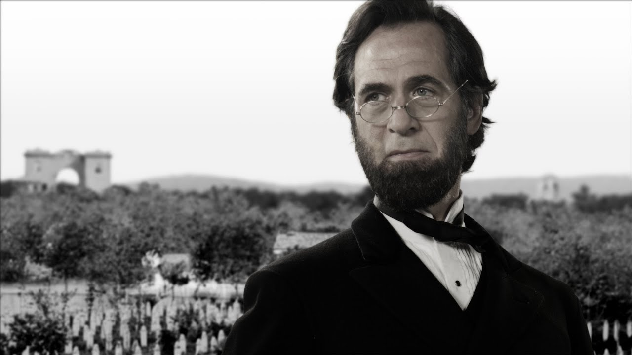 Abraham Lincoln Gettysburg Address From The Movie Saving