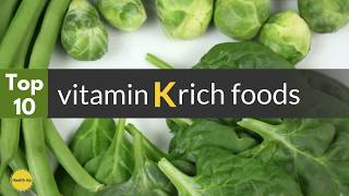 Food that are rich in vitamin K