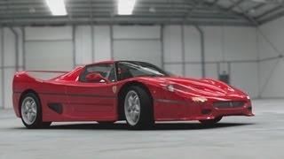 Top Gear 2014 - Jeremy Clarkson Ferrari F50 Review
