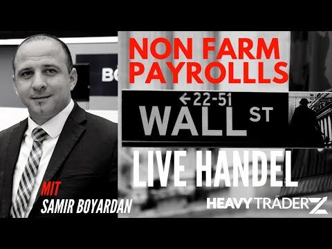 Non-Farm Payrolls: Was macht die Wallstreet heute?  #livetrading #boerse #dax #wallstreet