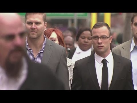 Pistorius arrives in court on day ten of murder trial